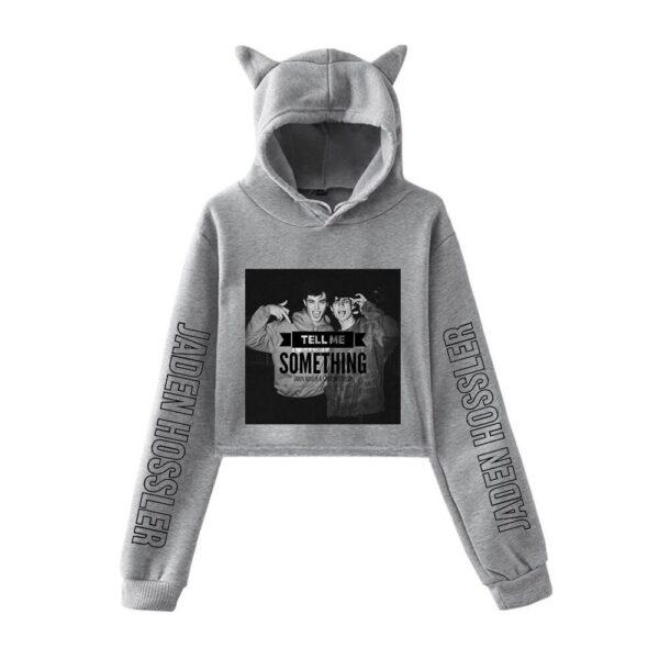 jaden hossler cropped hoodie